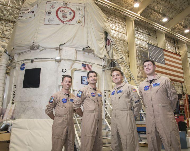 Die Nasa testet die Marsmission mit Menschen im Simulator