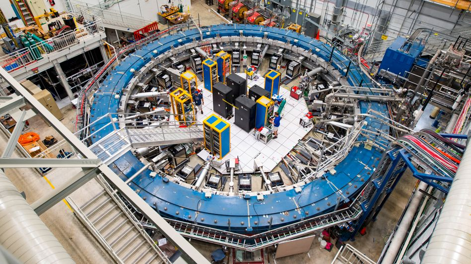 Speicherring des Myon-g–2-Experiments am Fermilab
