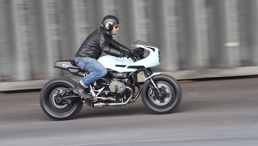 BMW R nineT Racer-Umbau: Rückenschonend pesen