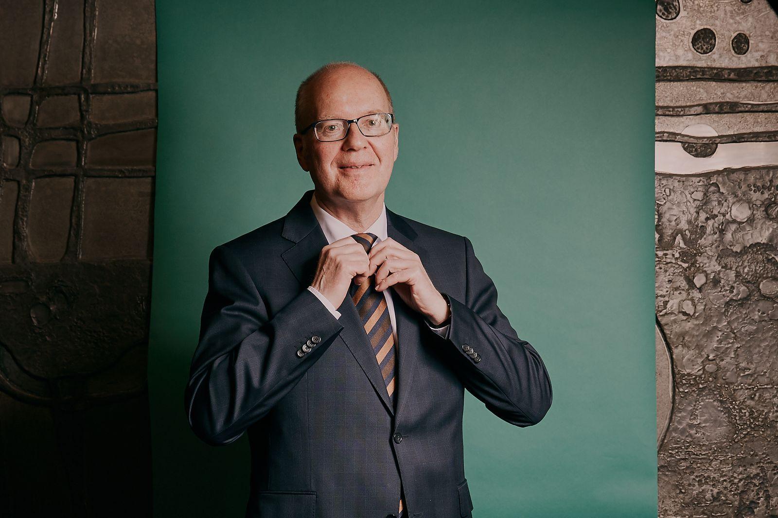 Portrait von Prof. Heinz Jörg Fuhrmann, Vorstandsvorsitzender des Stahlkonzerns Salzgitter AG