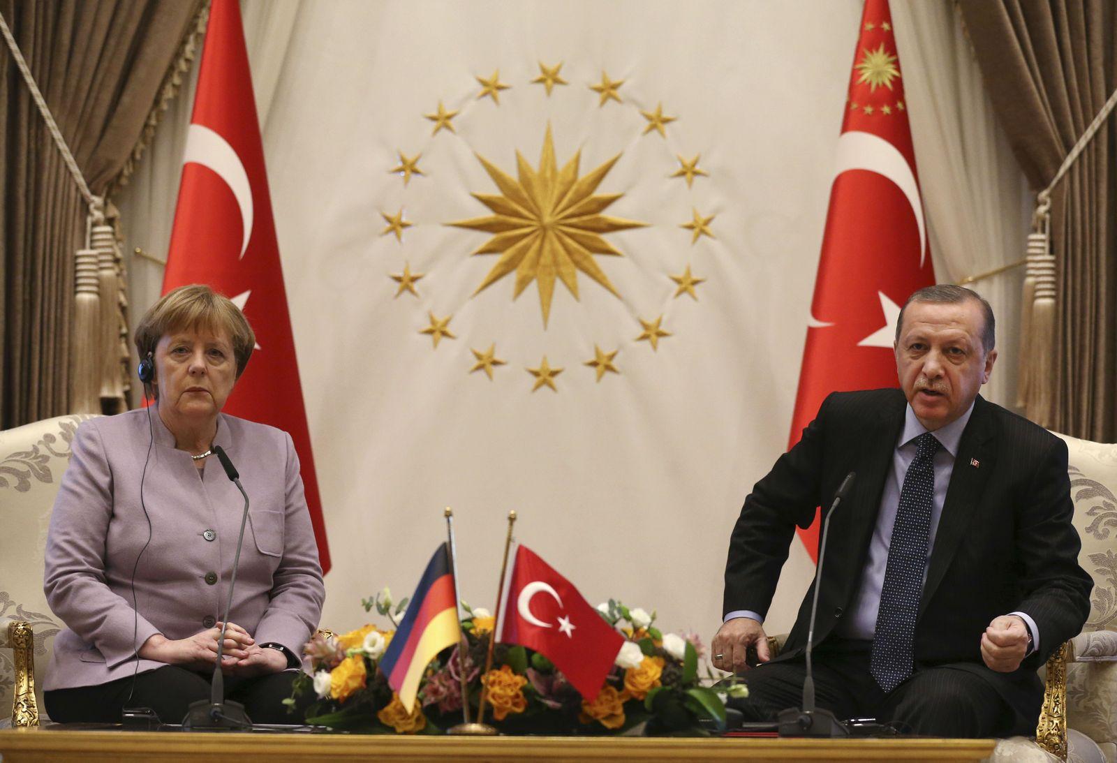 Merkel Erdogan / Februar 2017