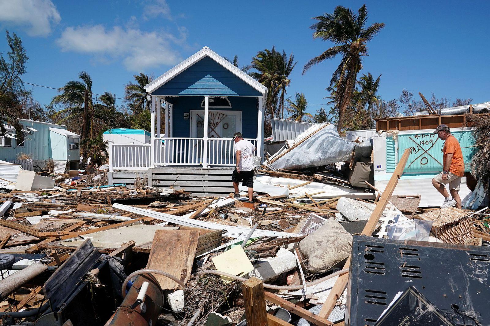Irma/ Zerstörung