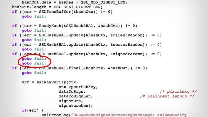 Apple-Software: Probleme bei gesicherten Verbindungen