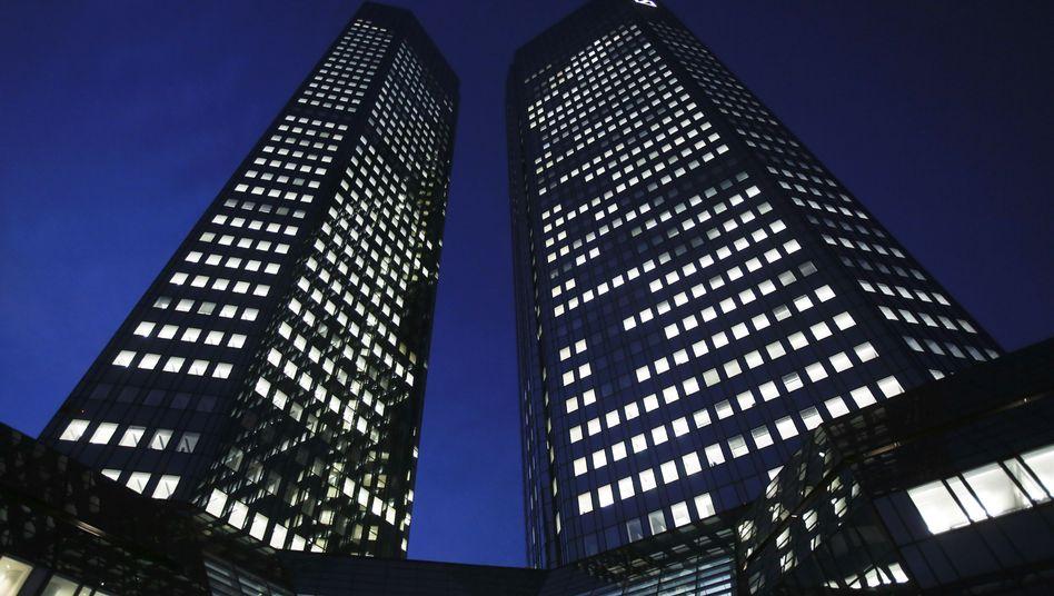 Deutsche-Bank-Zentrale: Viele europäische Institute müssen die Reserven aufstocken