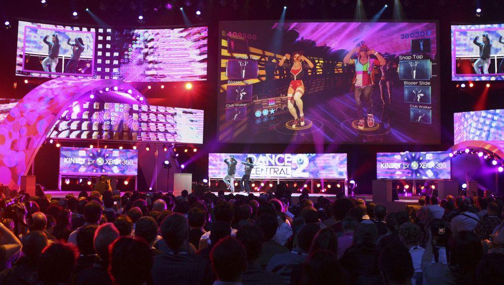 Microsoft auf der E3: Neue Spiele mit Kinect-Steuerung