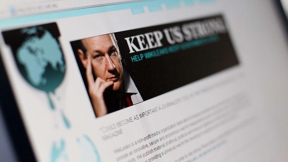 WikiLeaks-Website: Einige Web-Unternehmen verweigern der Plattform ihre Dienste