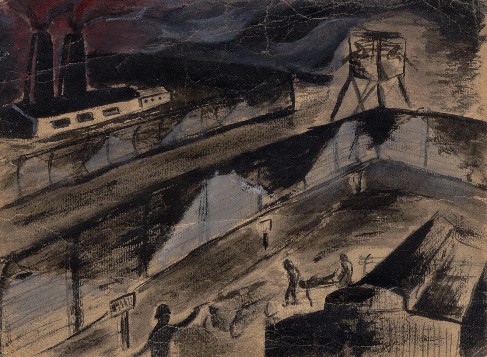 Yehuda Bacon - Auschwitz, ca. 1947