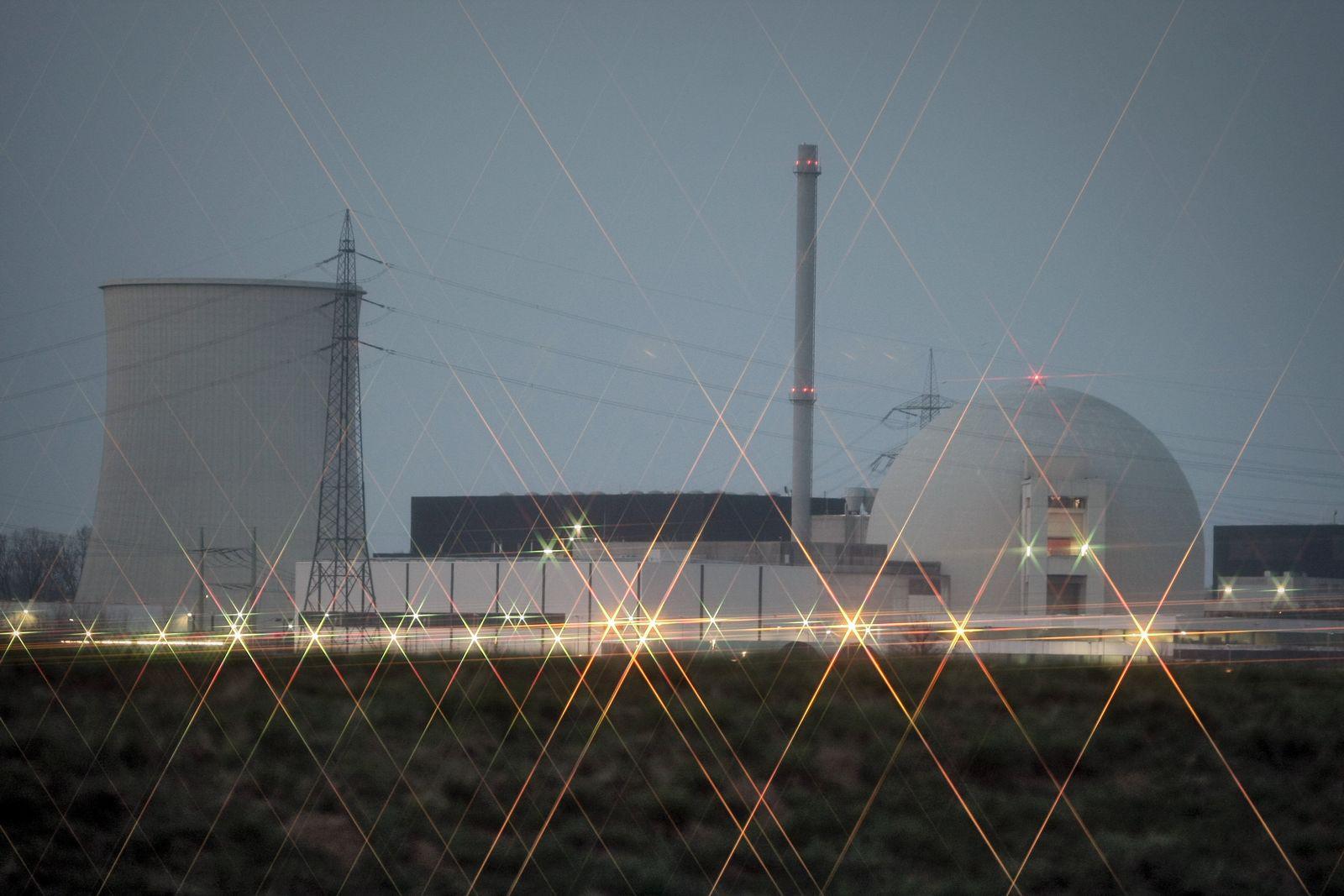 Biblis / AKW / Atomkraftwerk