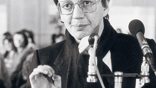 Grünen-Mitglied Hoof in Essen 1985: Gegen die Gülle der Gegenwart