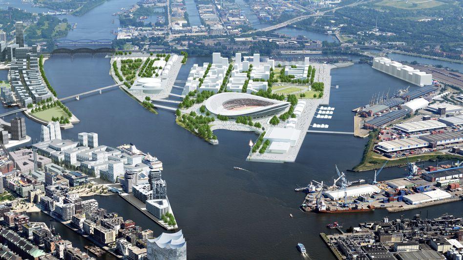 Geplanter Olympia-Park in Hamburg: Lieber kein Risiko