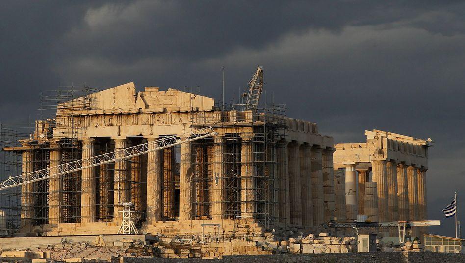 Akropolis in Athen: Milliarden von der deutschen Bad Bank