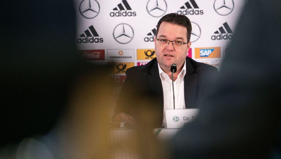 DFB-Schatzmeister Stephan Osnabrügge