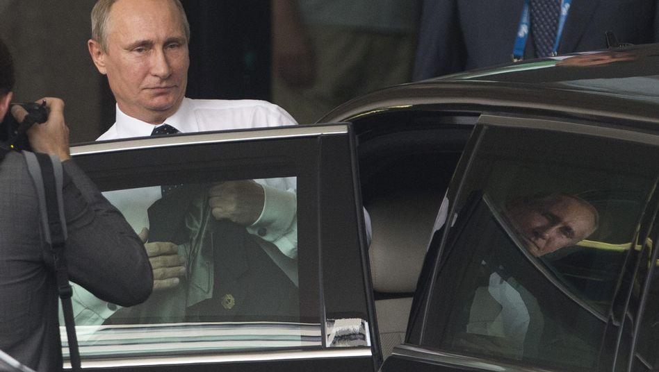 Russlands Präsident Putin bei der Abreise aus Australien: Westliche Ratlosigkeit