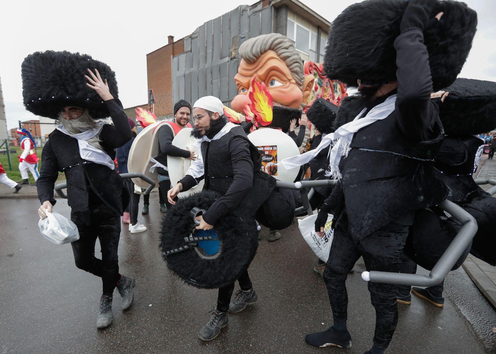 Carnaval in Aalst to go ahead as planned, Brussels, Belgium - 23 Feb 2020