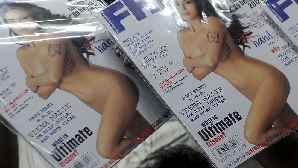 """""""FHM"""" und Veena Malik: Nackt oder nicht nackt?"""