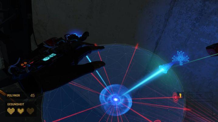 """Geschick statt Feuerkraft gefragt: Eine von einer Handvoll Minispiel-Varianten in """"Alyx"""""""