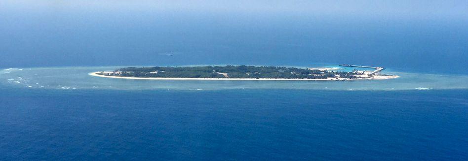 Insel Taiping im Südchinesischen Meer
