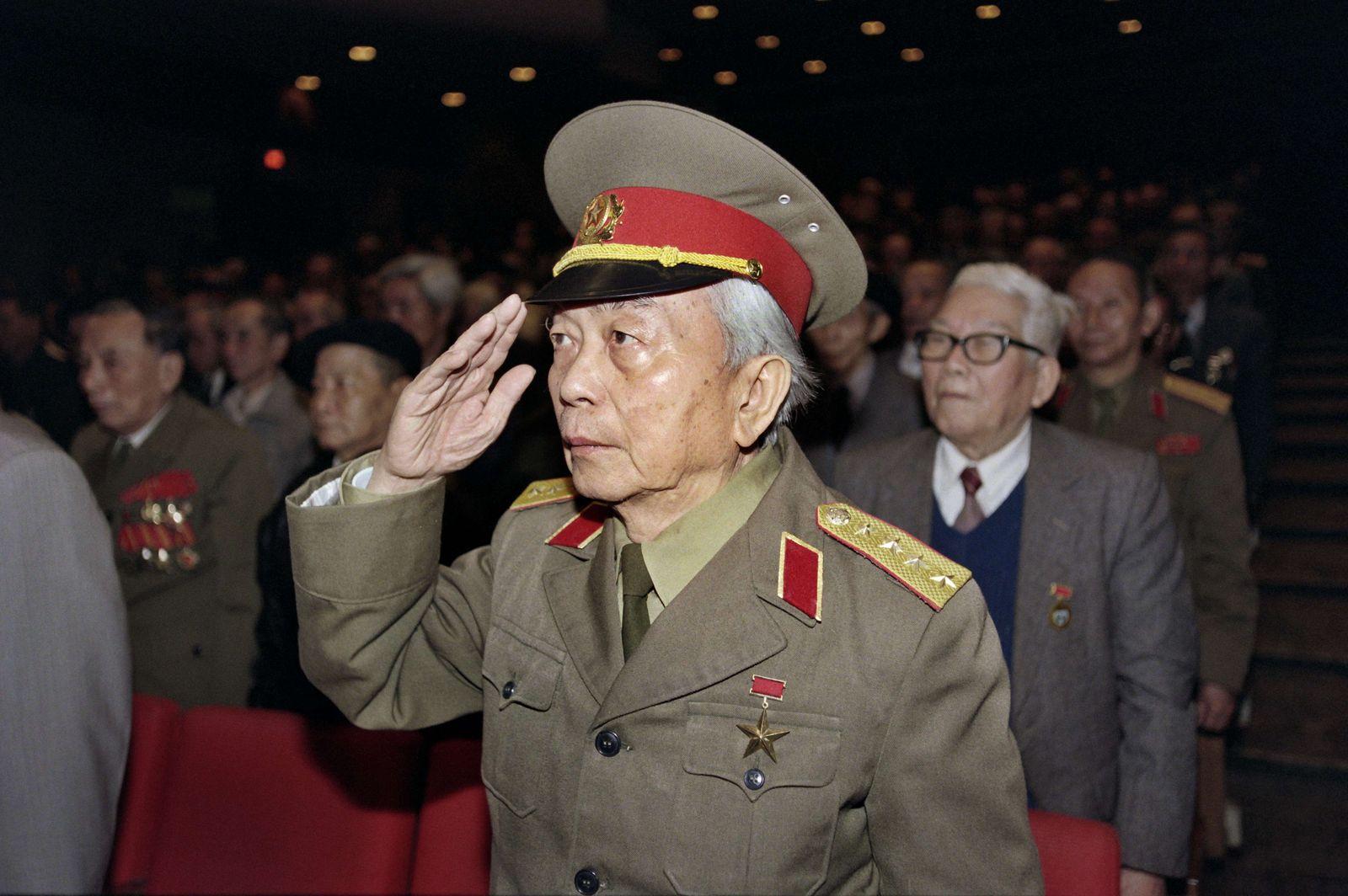 Vietnam/ Militär/ General Vo Nguyen Giap
