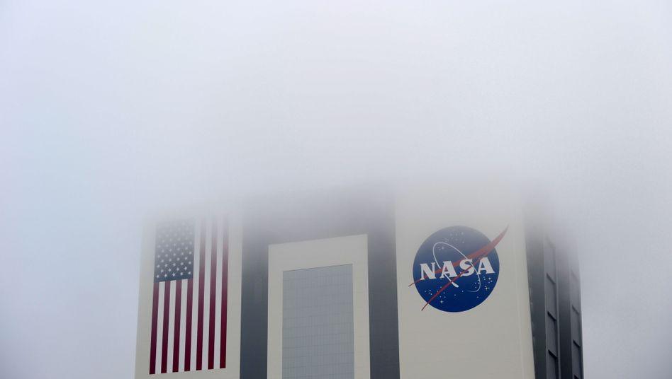 NASA-Gebäude am Kennedy Space-Center