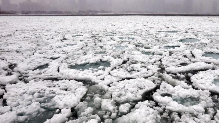 Extremer US-Winter: Kältewelle frostet Mittleren Westen