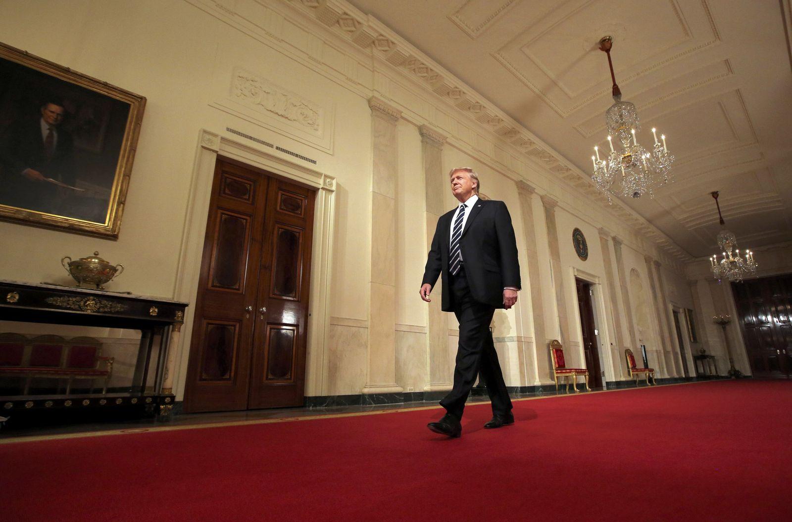 Trump/ EinJahrImAmt/ Das Weisse Haus