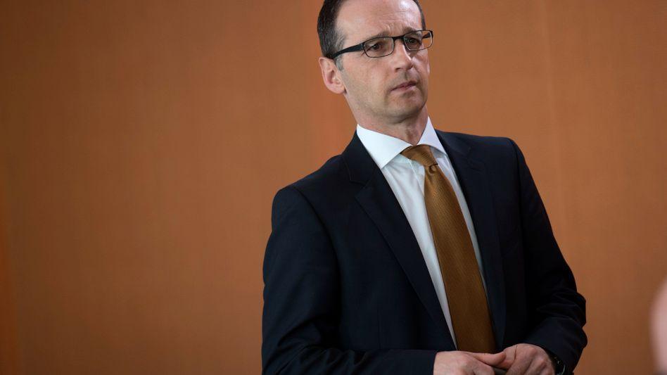 """Justizminister Maas (SPD): """"Haben das Geld zurückerstattet"""""""