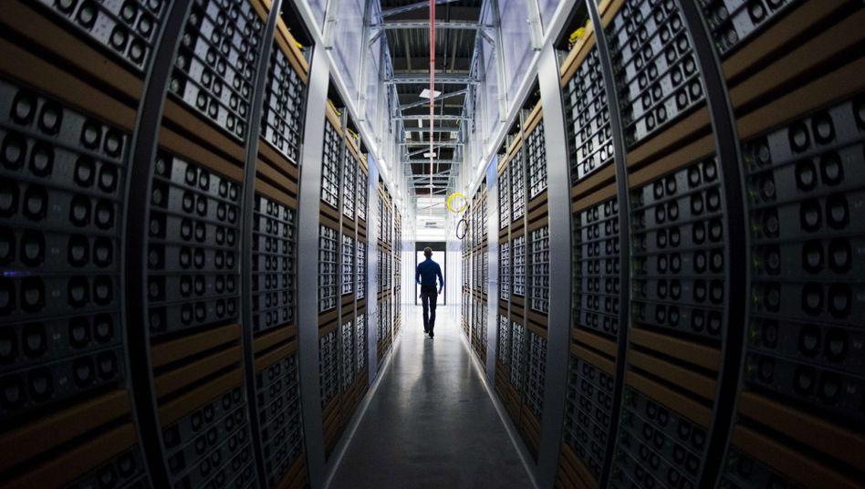 Der Strombedarf eines Facebook-Datenzentrums im schwedischen Lulea wird komplett von Wasserkraft gedeckt