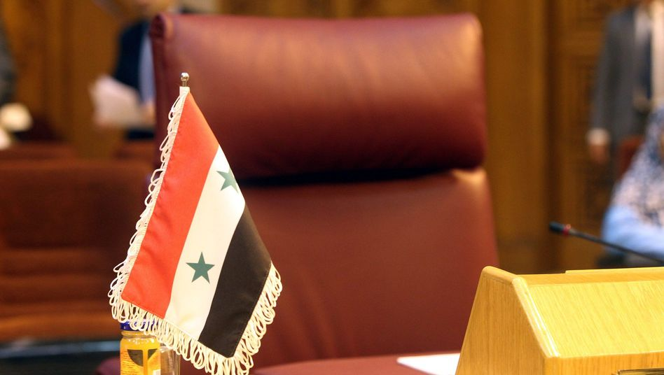 Leerer Sitz des syrischen Außenministers: Arabische Liga uneins