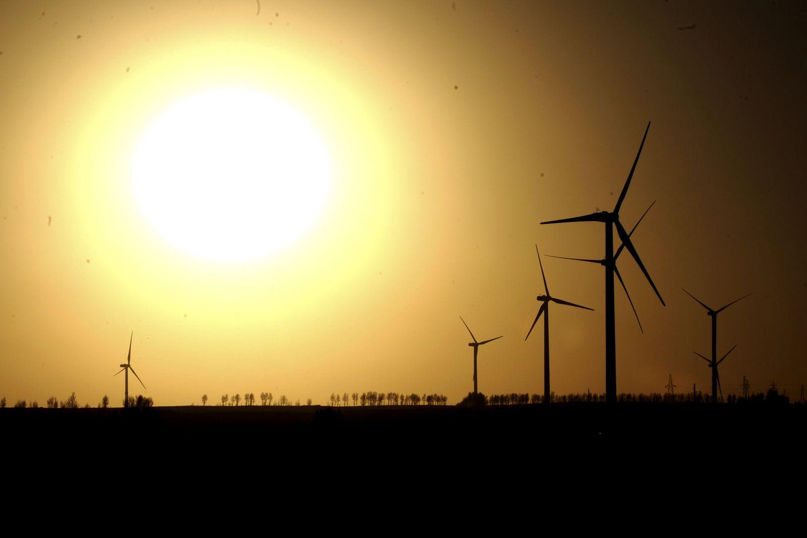 Sonne und Wind Strom China