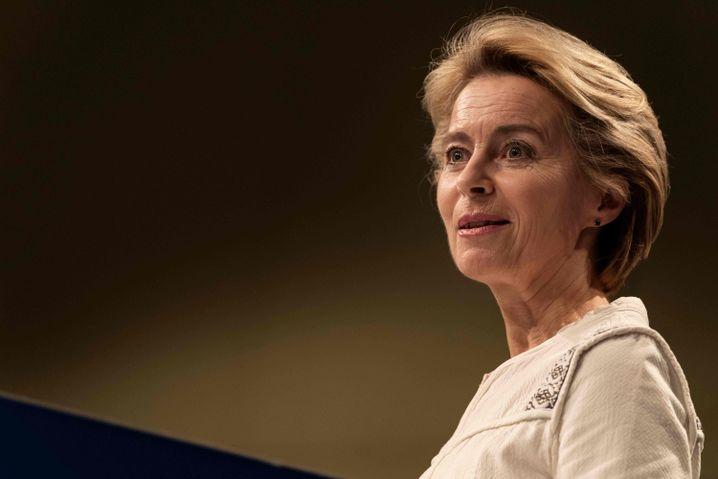EU-Kommissionspräsidentin von der Leyen: Auf Platz zwei katapultiert