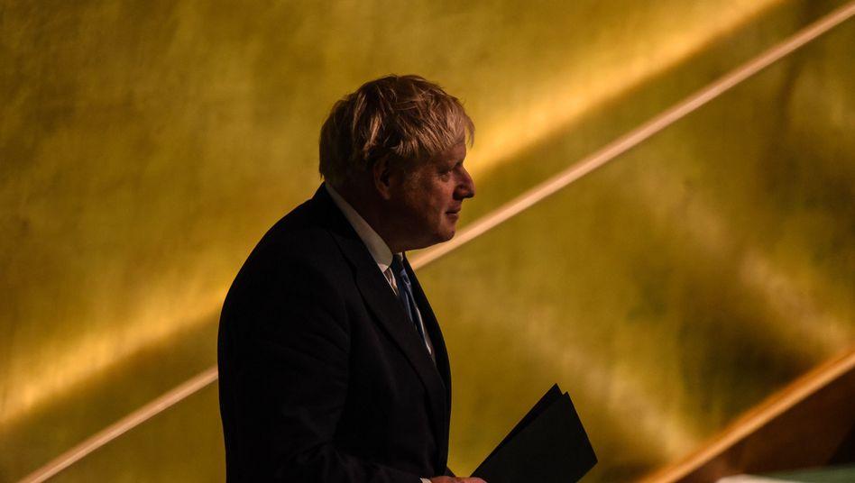 Boris Johnson vor seiner Rede bei der Uno: Seine Freundschaft zu einer US-Unternehmerin sorgt für Aufruhr