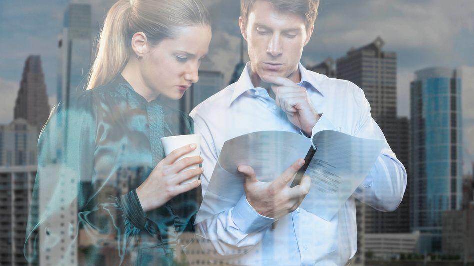 Bankkaufleute: Steht hier, wann wir das letzte Mal Kunden persönlich begegnet sind?
