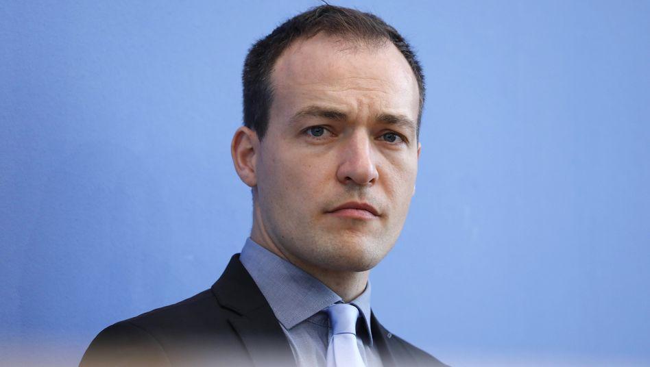 Bundestagsabgeordneter Huber: »Haut rein«