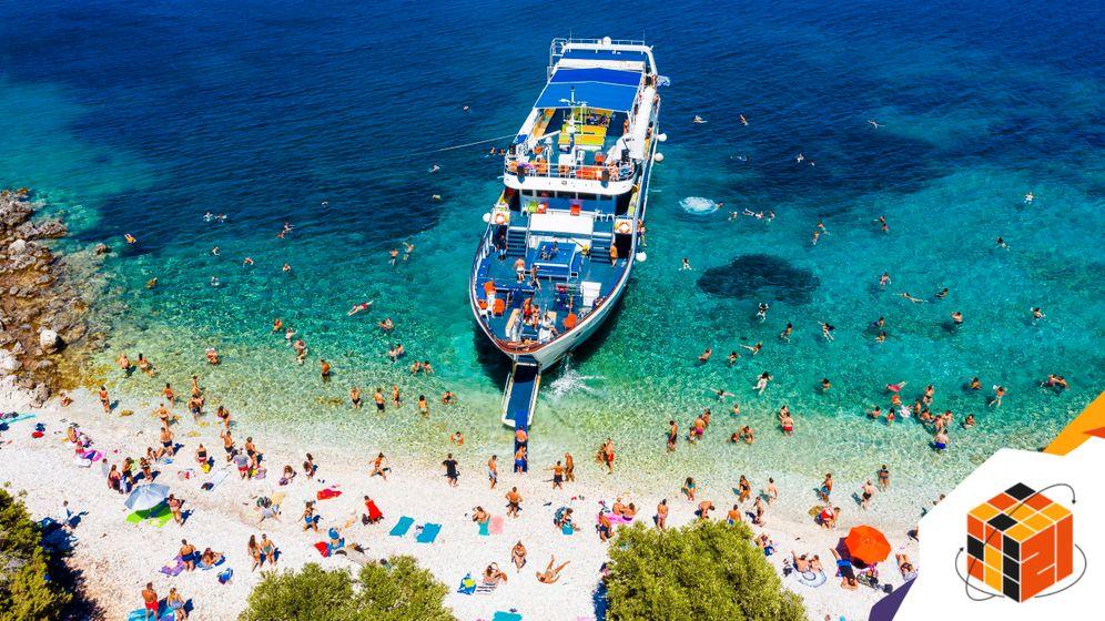 Strand auf Ithaka, Griechenland: Der Urlaub wird wieder zur sozialen Frage