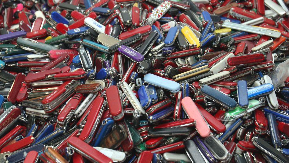 Handgepäck: USA-Reisende dürfenab April Taschenmesser mit an Bord nehmen