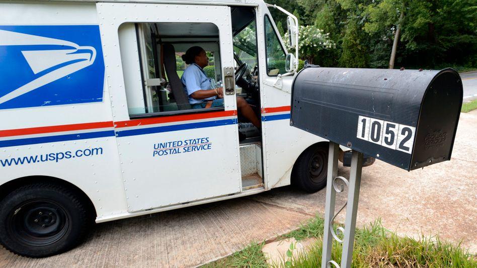 US-Post (Symbolbild): Postsendungen komplett überwacht