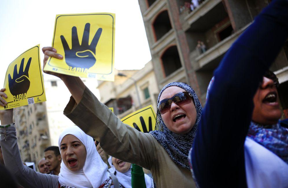 Demonstration von AnhängerInnen der Muslimbruderschaft (Archivbild)