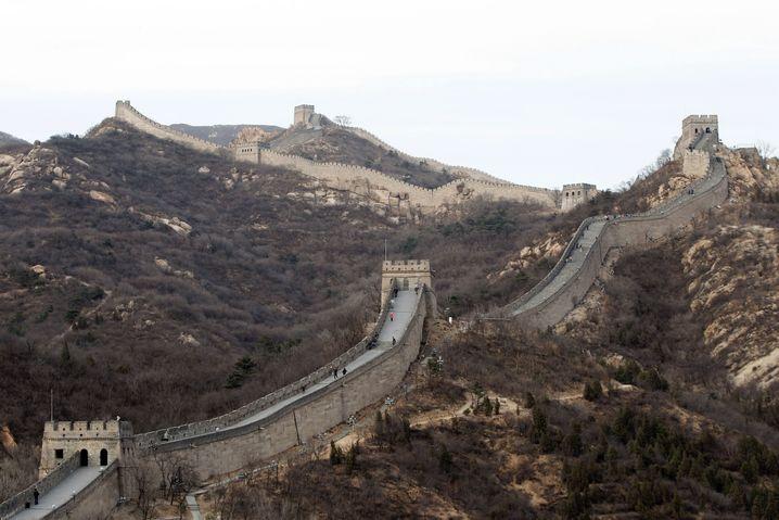 Chinesische Mauer: 21.196,18 Kilometer durch 15 Provinzen