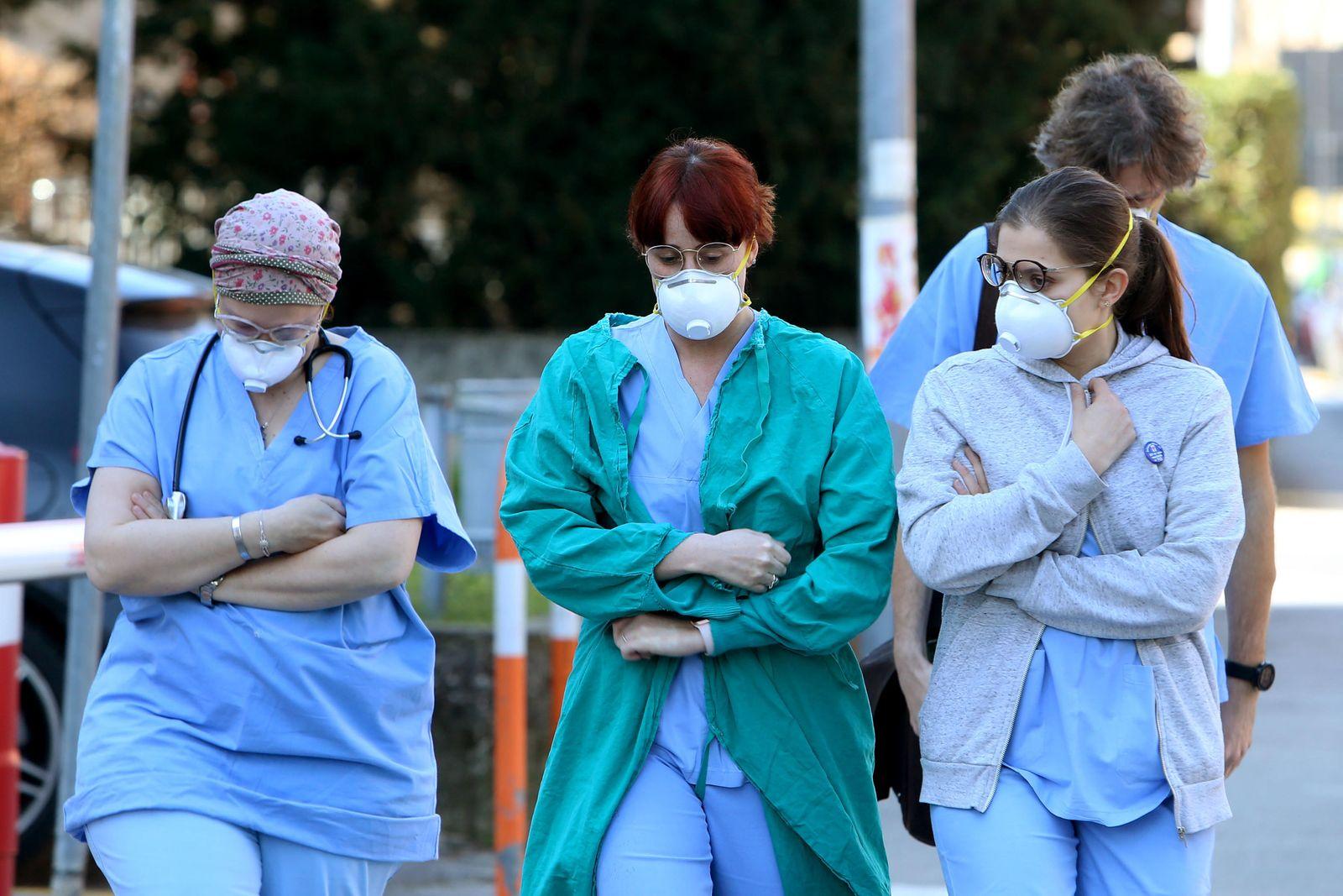 Coronavirus in Italy, Padua - 22 Feb 2020