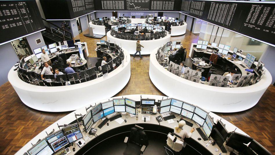 Frankfurter Börse: Es regiert die Verunsicherung