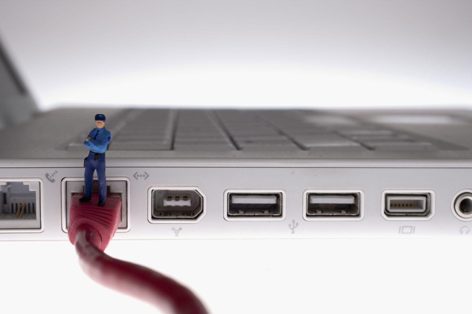 NICHT MEHR VERWENDEN! - Symbolbild Internet / Überwachung / Netzsperren / Deep Packet Inspection