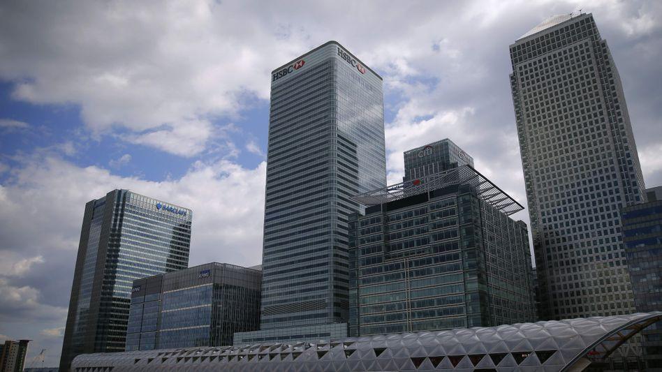 Bankenviertel Canary Wharf