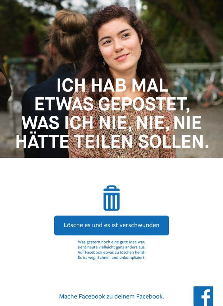 Motiv der Facebook-Kampagne