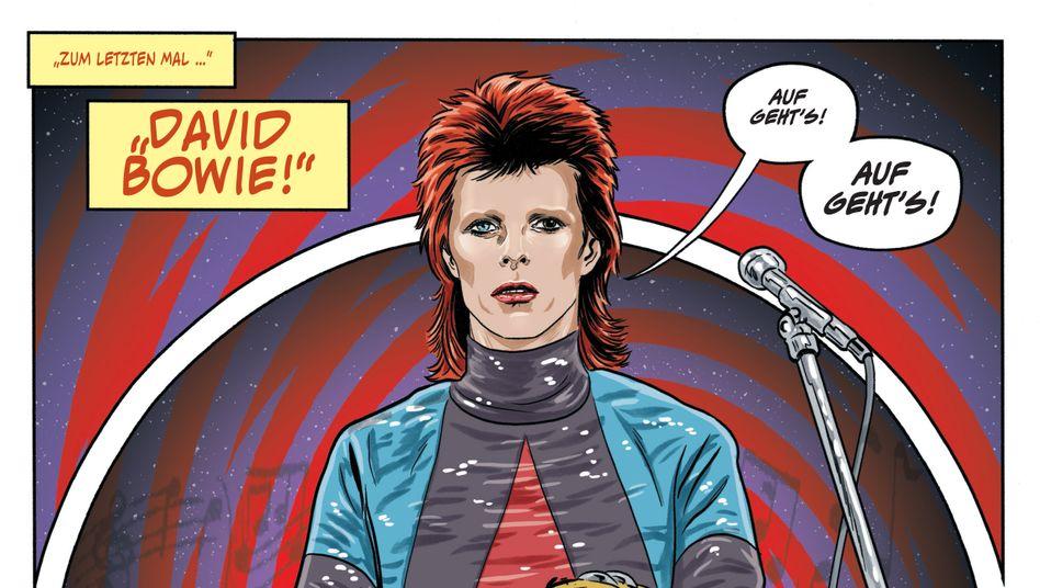 Wiedererkennbar: David Bowie von Michael Allred