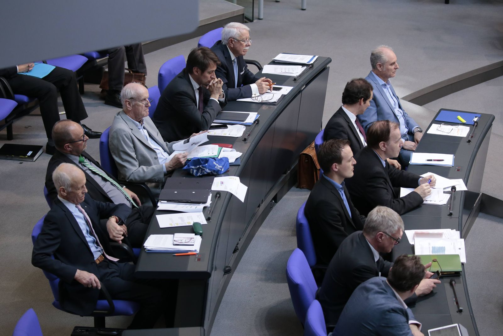 EINMALIGE VERWENDUNG Bundestag/ AfD Fraktion