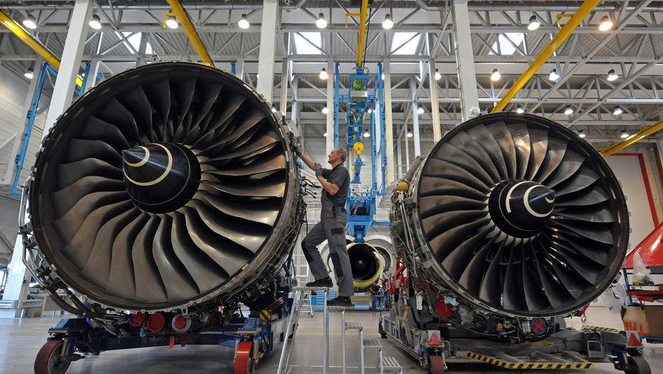 Flugzeugtriebwerke: Unternehmen erwarten große Nachfrage