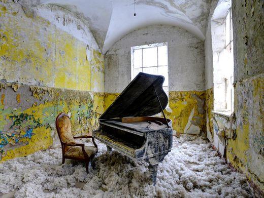 Heilstätten Beelitz: Das ehemalige Sanatorium ist ein beliebter Ort bei Fotografen und wird auch von Go2Know angesteuert