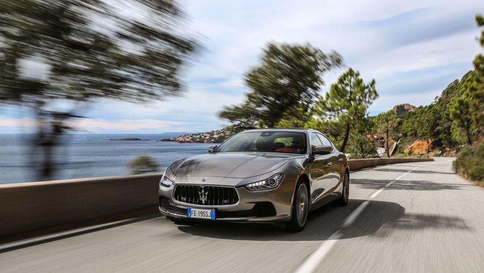 Autogramm Maserati Ghibli: Tief abwärts, schnell vorwärts