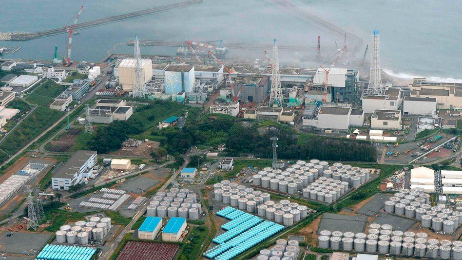 Atomruine Fukushima Daiichi (Archivbild): Arbeiter evakuiert