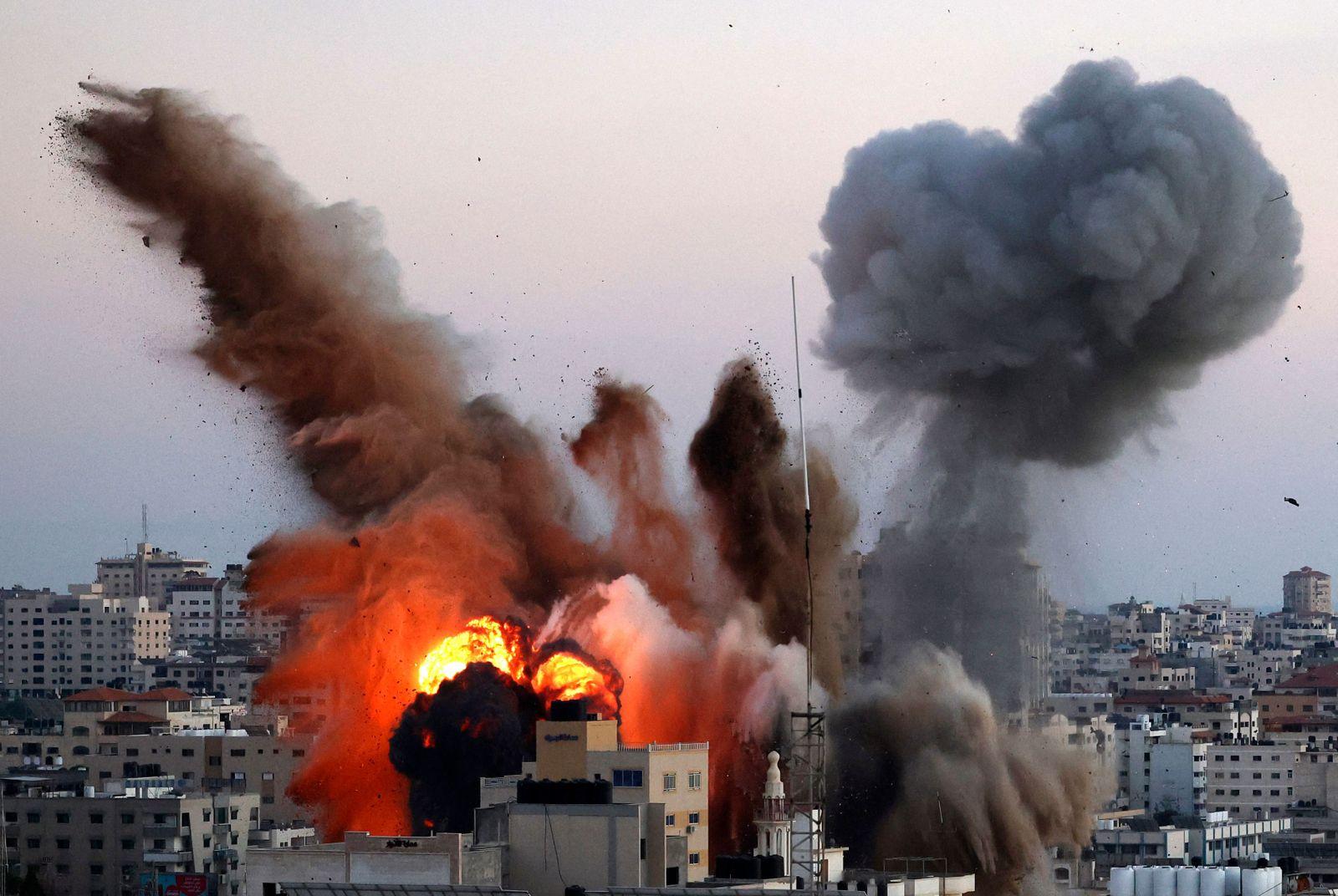 TOPSHOT-PALESTINIAN-ISRAEL-GAZA-CONFLICT